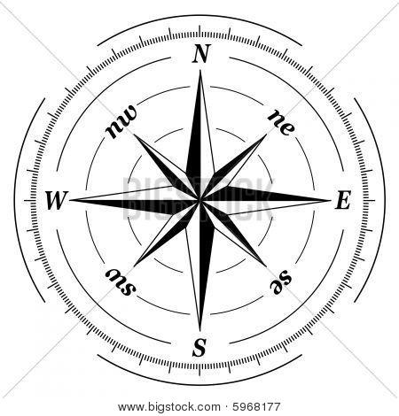Grunge Compass.eps