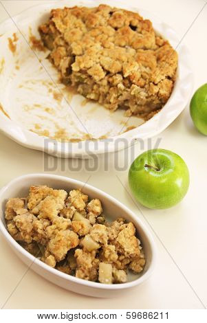 Apple Crisp Vertical Plain