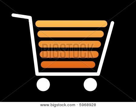 Shopping Cart White