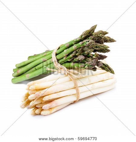 Asparagus Green and White
