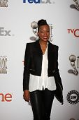 LOS ANGELES - FEB 8:  Aisha Tyler at the 2014 NAACP Image Awards Nominees Luncheon at Loews Hollywoo