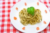 Plate Of Fresh Spaghetti poster