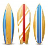 3 surfboard icons