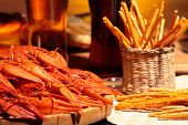 foto of crawdads  - Prepared crawfish - JPG