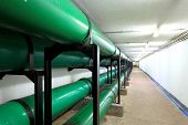 picture of underground water  - Drainage pipe in underground - JPG