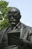 Monument Lenin poster