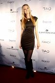 NEW YORK-FEB 10: Model Elena Foley attends the Cantamessa Men Launch Party at Tao Downtown Lounge on