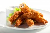 foto of tar  - Chicken Sticks with Tar - JPG