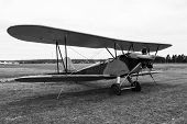stock photo of biplane  - biplane Polikarpov Po - JPG