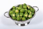 Sprouts Bruxell In The Strainer