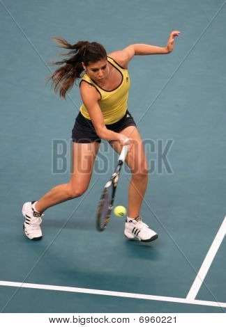 Sorana Cirstea (rou) At Open Gdf Suez