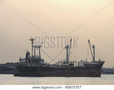 Ship In Midstream