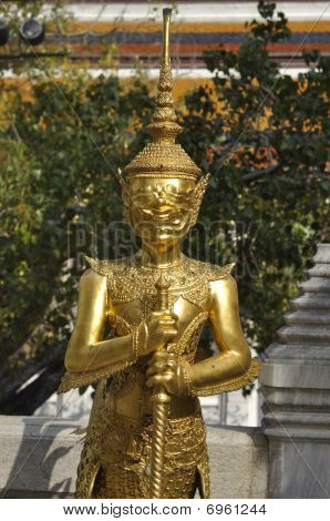 Gold Sculpture Giant Model Thailand