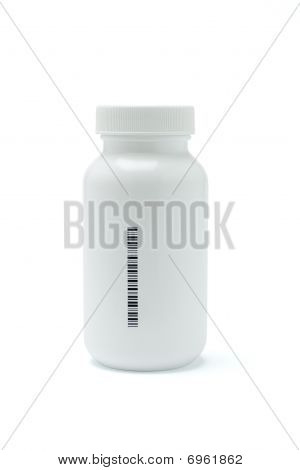 Plastic Medicine Bottle