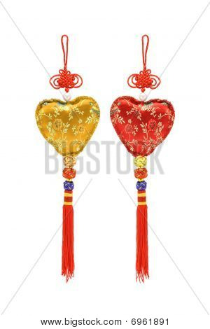 Chinese Heart Shape Ornaments