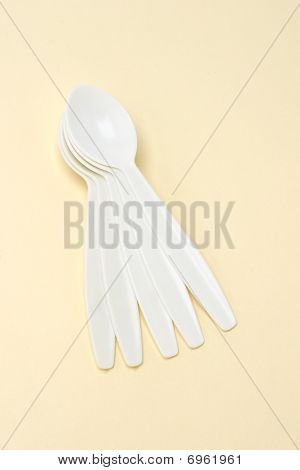 Plastic Tea Spoons