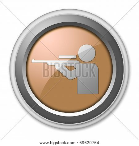 Hunting Icon Button