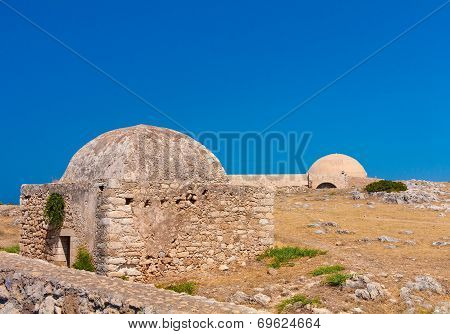 Inner Yard Of Retimno Fortress