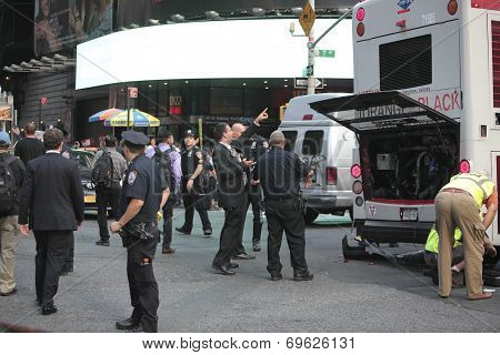 NYPD planning bus removal from site