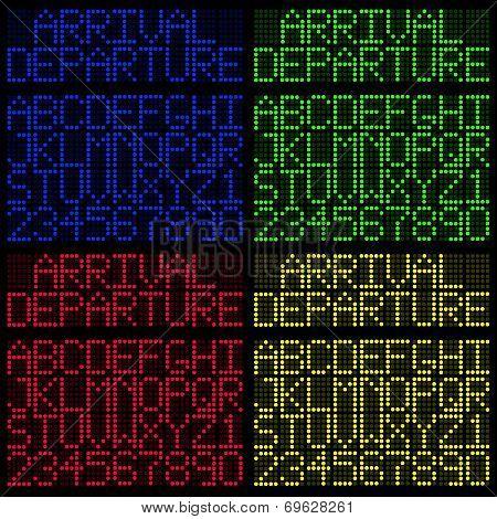 Multicolor LED Board
