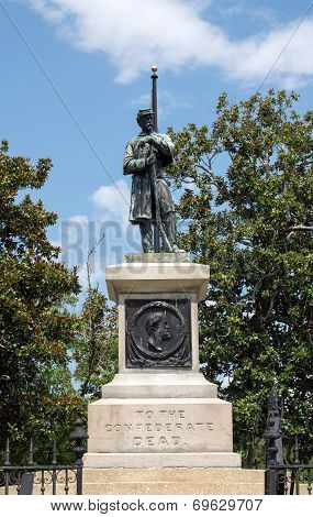 Wilmington,NC Aug. 6, 2014-Confederate Memorial