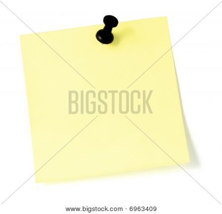 Yellow sticky note To-do List