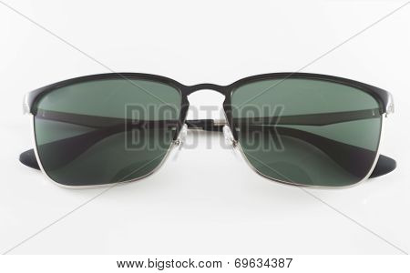 Famous Style Sunglasses Isolated On White Background