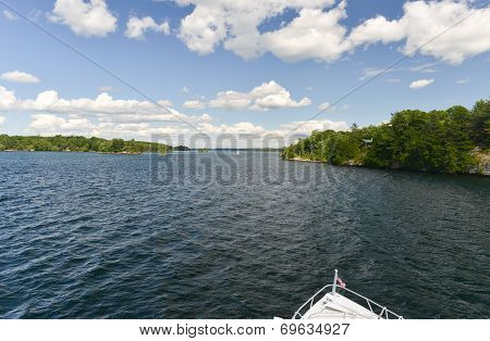 View Of The Thousand Islands