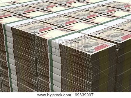 Rupee Notes Pile