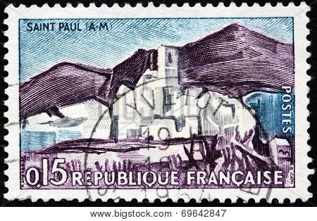 Saint-paul Stamp