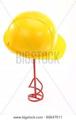 Helmet And Stirrer