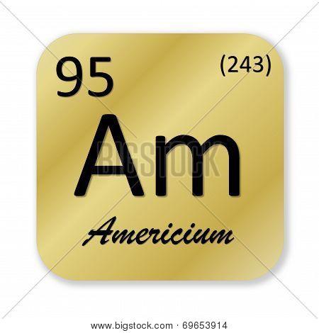 Americium element