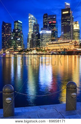 Singapore-july 6 : Building At Marina Bay On July  8, 2013 In Singapore.