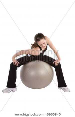Shoulder Stretch Ball