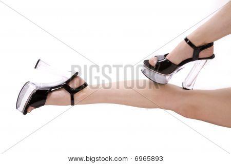 Black Shoes Feet