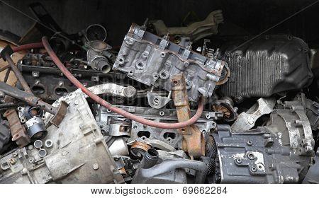 Scrap Metal Parts