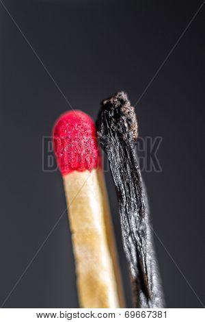 Yin Yang Matchstick Version