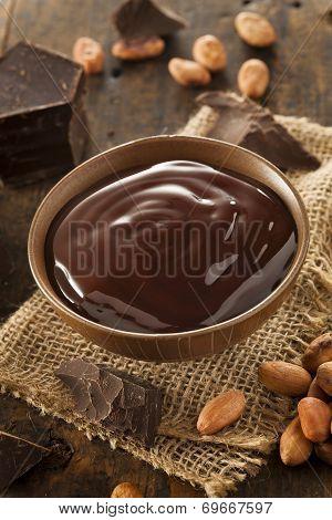Sweet Dark Chocolate Sauce