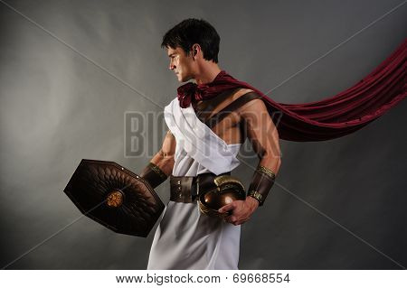 attractive gladiator
