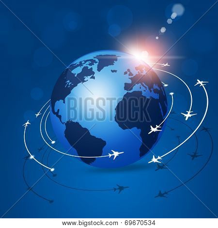 Global Aviation Background