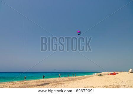 Agios Ioannis beach in Lefkas island Greece