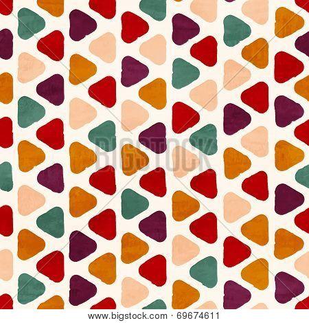 Vector Funky Retro Seamless Pattern