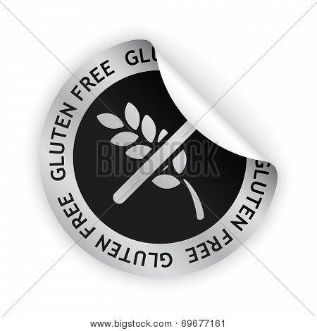 Gluten Free Bent Sticker