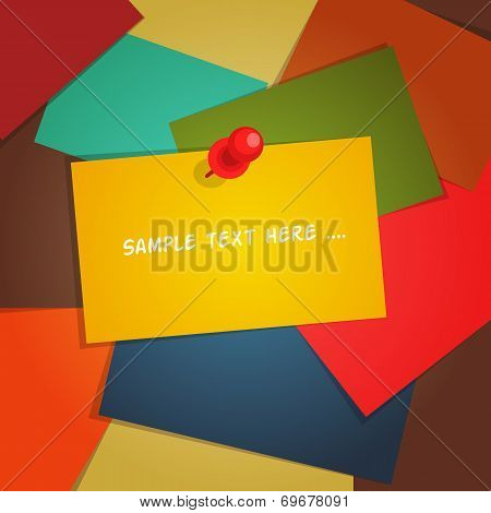 Paper Card Background