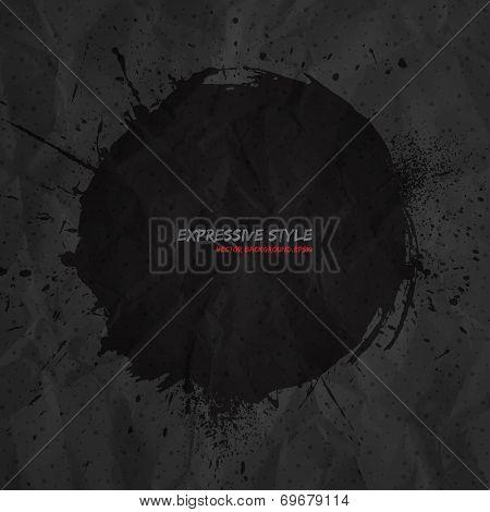 Hand Drawn Vector Grunge Background