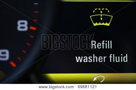 Refill Washer Fluid