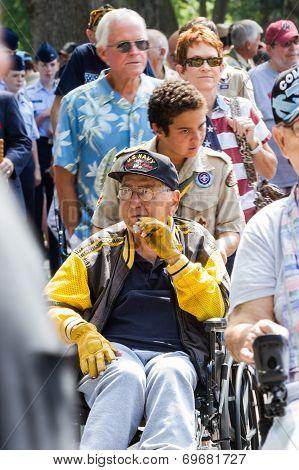 Veterans At The Memorial Day Parade