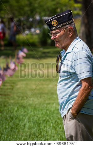 Memorial Day At The Va Cemetery