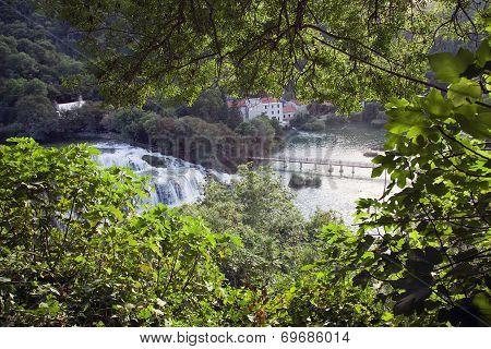 Croatia. Krka National Park.