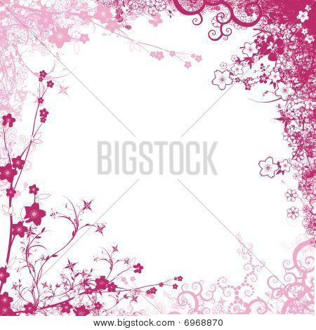 Pink foliage